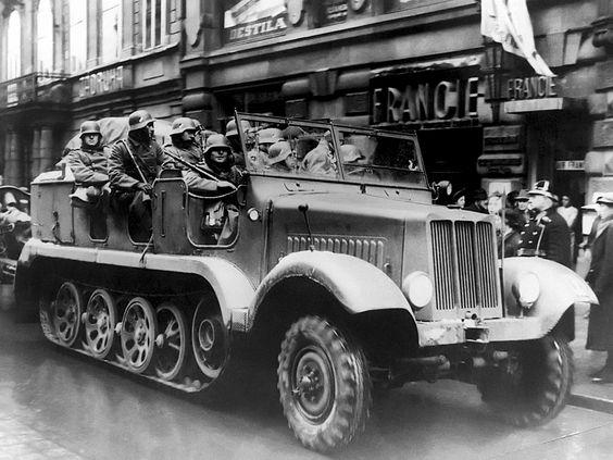 1938 Büssing-NAG BN L8 (Sd.Kfz.6)