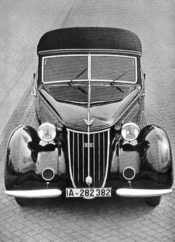 1938 wanderer W23 cabrio d dac