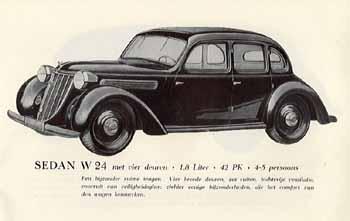 1938 Wanderer W24 4d