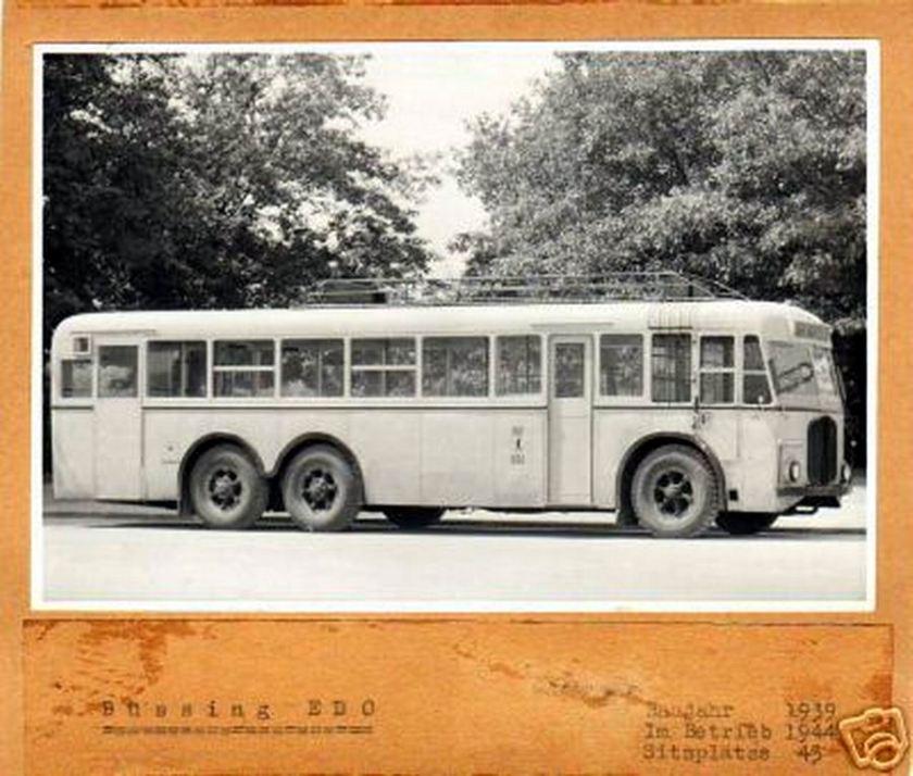 1939 büssing EDO X