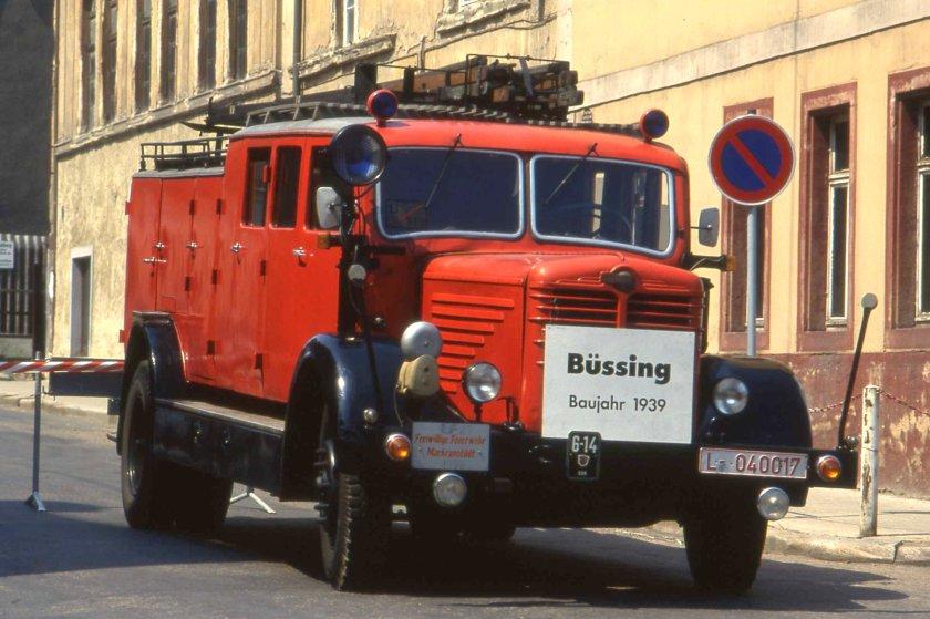 1939 Büssing-NAG Typ 500G Fire Tender Schmölln