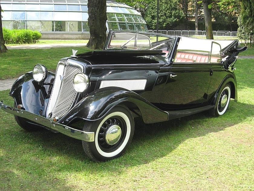 1939 Wanderer W50 Cabriolet 2-Sitzer