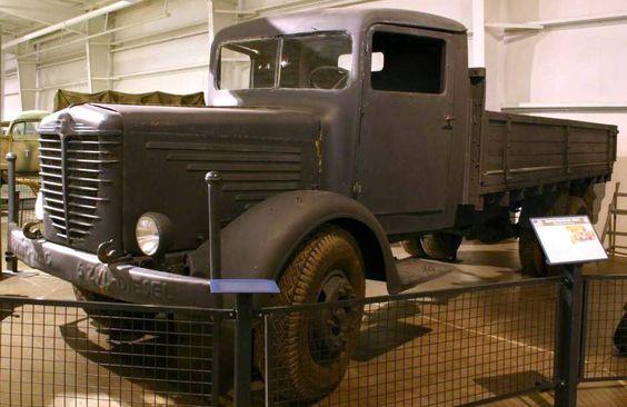 1942 Bussing-NAG 4500 A-1 4x4 Heavy Cargo Truck