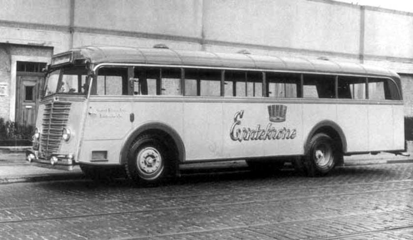 1948 Büssing-NAG, do tipo 500T