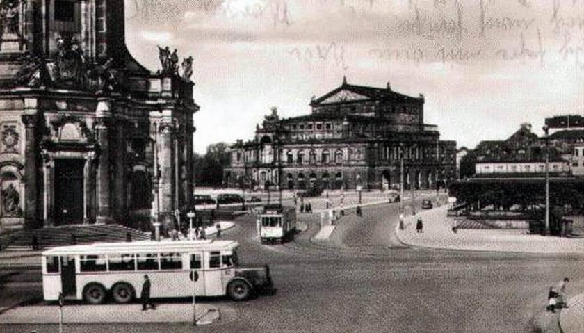 1949 Büssing Nag E3 omnibus Dresden Baydekarte