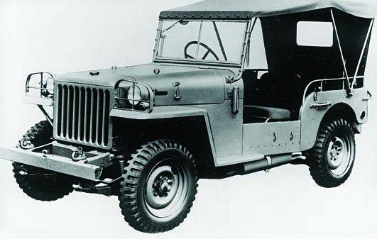 1950 Toyota BJ, 4x4