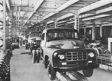 1950's Toyota BX Motor Plant