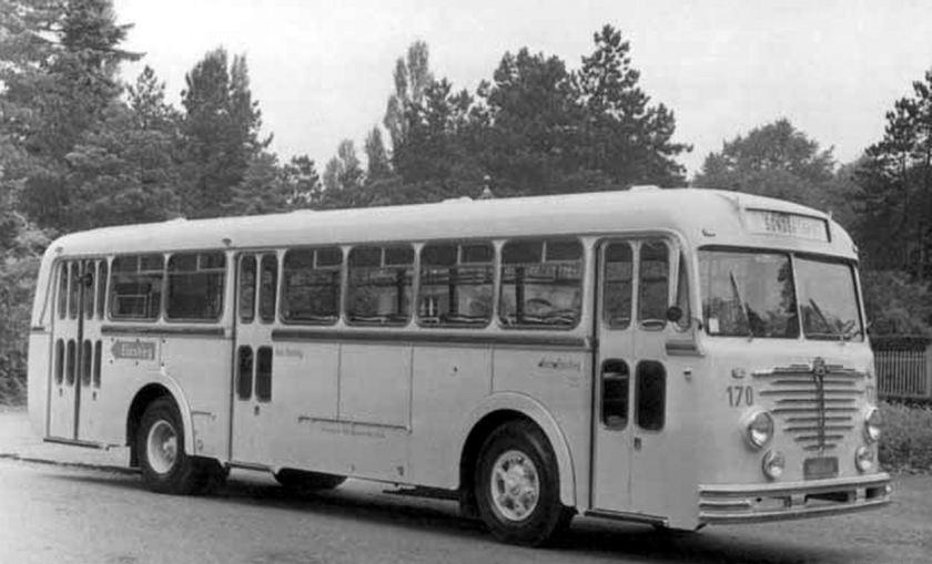 1954 Büssing Nag 6500T