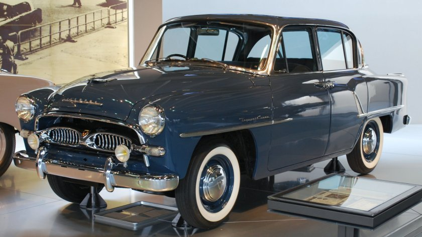 1955 Toyopet Crown 03 First-generation Toyopet Crown Model RSD (1955-1 – 1958-10)
