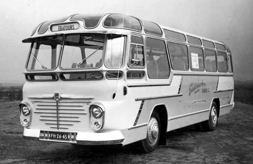 1956 Büssing voor Ebatours