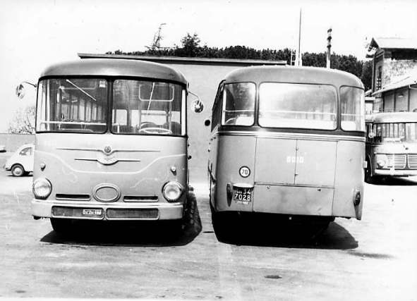 1958-1972 Bussing TU11 Macchi 1958 .entro il 1972 stefer b e bussing 6010