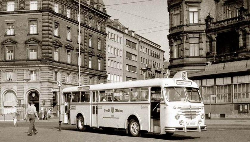 1958 Büssing Emmelmann 4500T