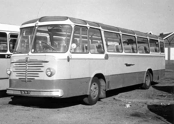 1960-1963 Büssing TU5N carr. Van Rooijen, Montfoort TB-79-73