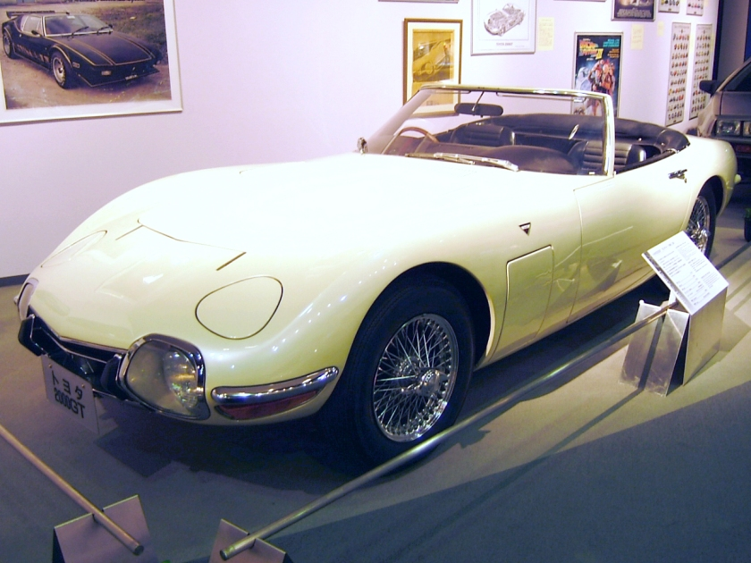 1968 Toyota 2000GT used in the James Bond film, You Only Live Twice