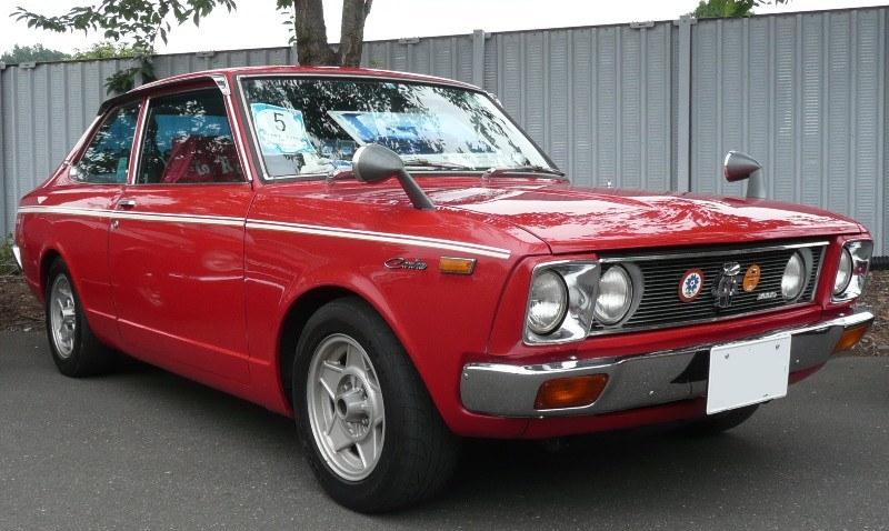 1970-77 Toyota 1st Carina 1600GT