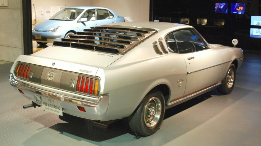 1973 Toyota Celica liftback 2000 GT (RA25, Japan)rear