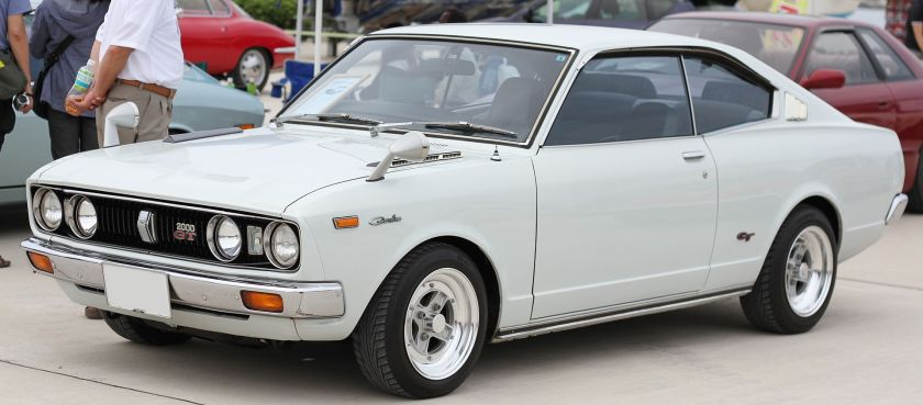 1975 Carina 2000GT hardtop coupe