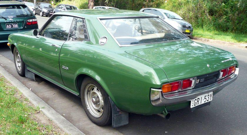 1976-77 Toyota Celica Hardtop coupe 2000 LT (RA23, Australia)
