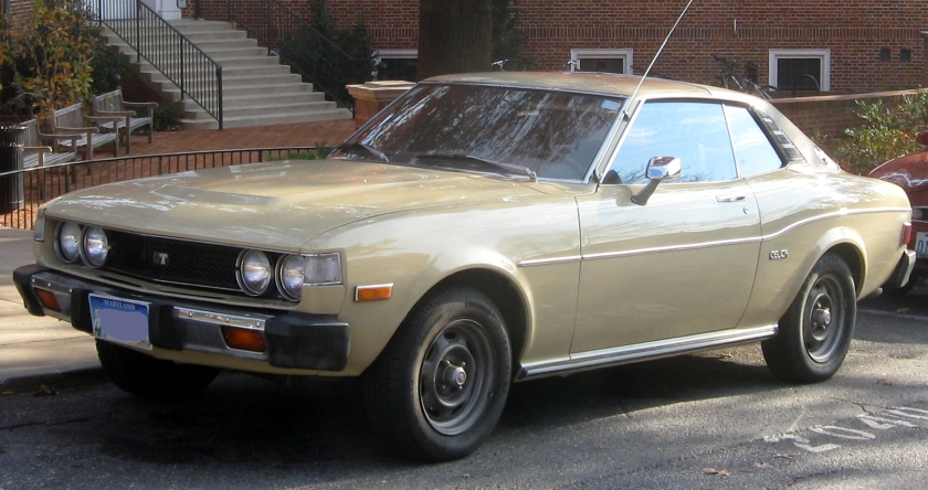 1976 Toyota Celica coupe 2200 GT (RA24, US)