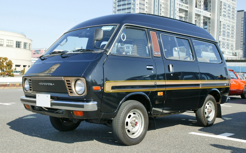1978 Toyota Town Ace (Townace) Wagon, the first generation.