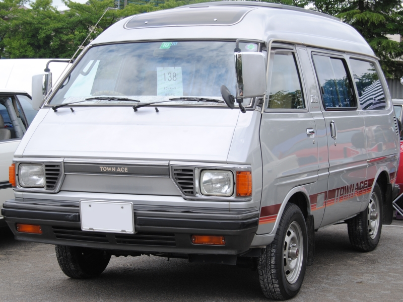 1980-82 TownAce wagon Grand Extra (TR15 second facelift)