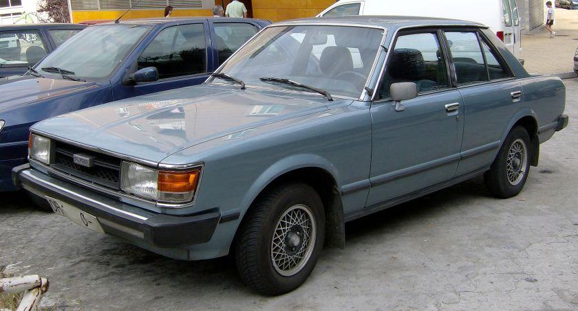 1981 Toyota Carina Deluxe 1980-82