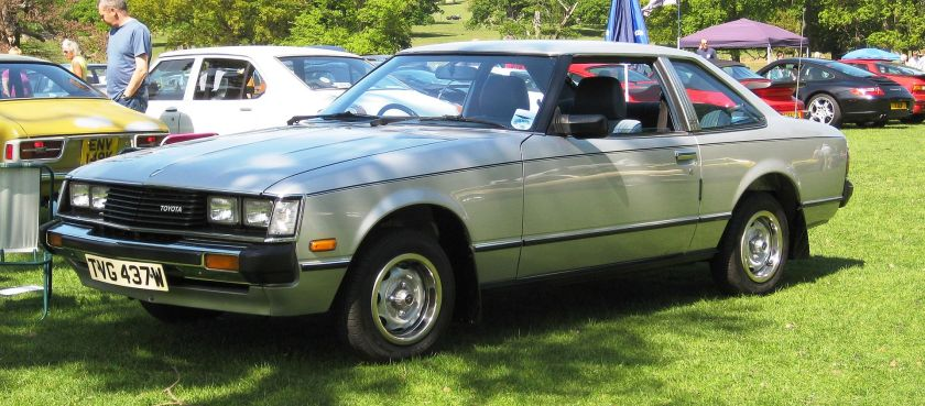 1981 Toyota Celica coupe 1600 ST (TA40, Europe)