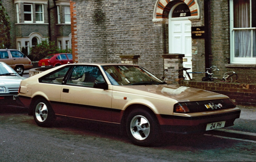 1984 Toyota Celica liftback 2000 XT (RA61, UK)