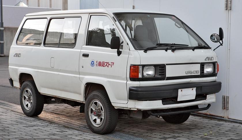 1985-88 LiteAce van DX 4WD