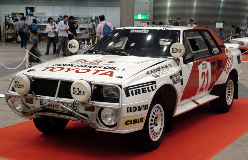 1985 Toyota Celica TwinCam Turbo (TA64) Group B rally car