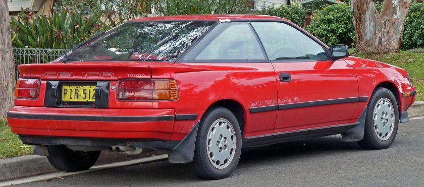 1987-89 Toyota Celica 2.0 SX liftback (ST162, Australia)