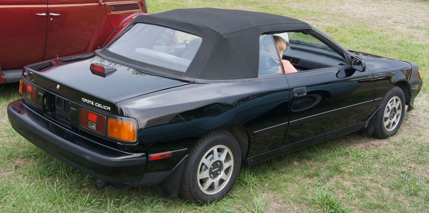 1987 Toyota Celica GT convertible (ST162, US)