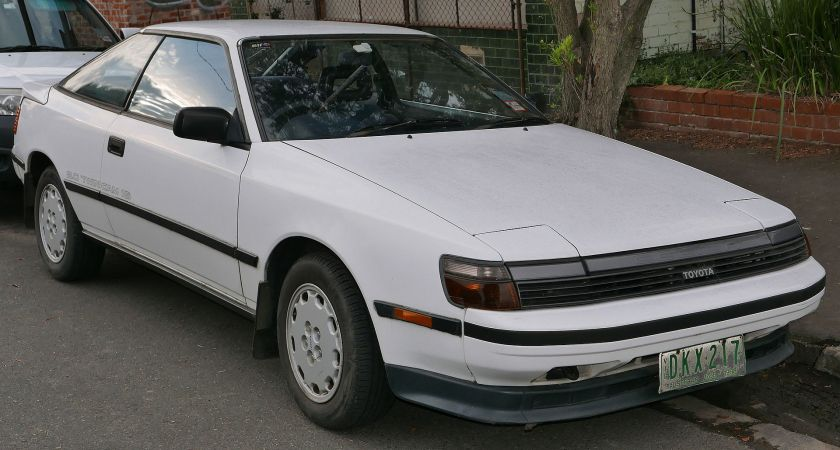 1988 Toyota Celica (ST162) SX liftback