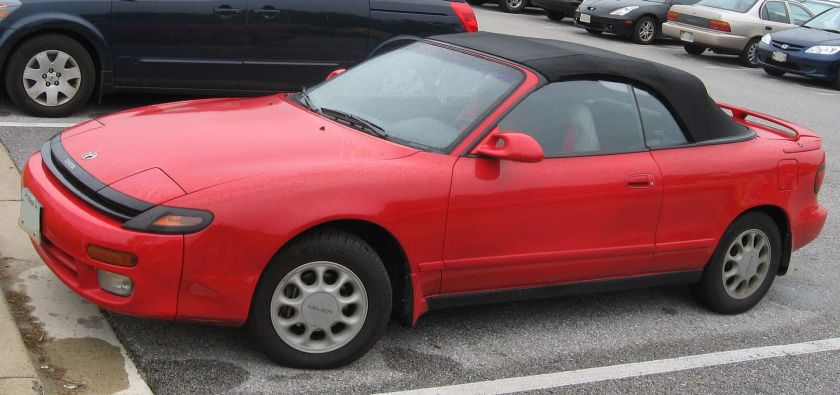 1992-93 Toyota Celica GT Convertible (ST184)