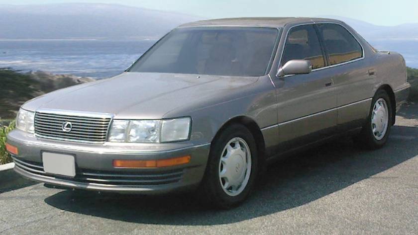 1992-94 Lexus LS 400 UCF10 II Silver Taupe