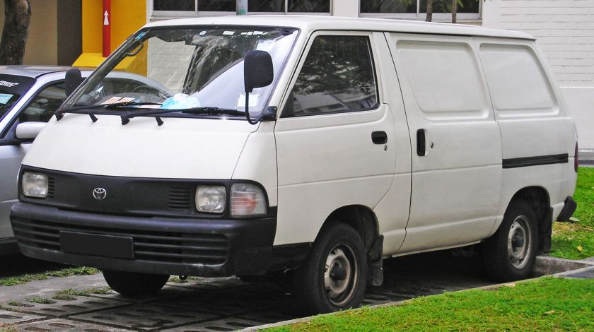 1992-96 Toyota Liteace (fourth generation) (front), Singapore