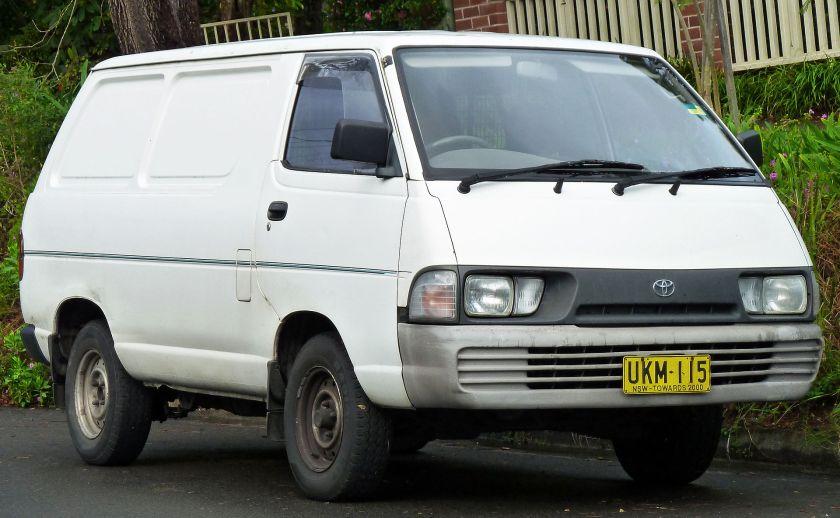 1992-96 Toyota TownAce (YR39RV) van