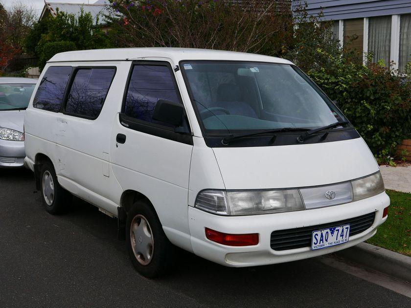 1994 Toyota Spacia (YR22RG) GXi van 1993-96