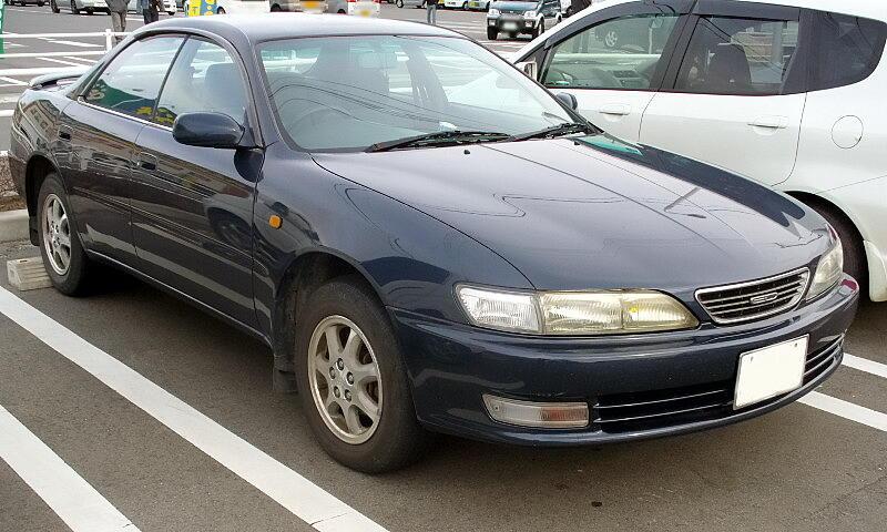 1995 Toyota Carina ED 4-door hardtop