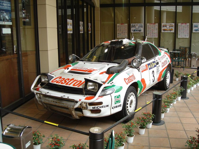 1995 Toyota Celica Turbo 4WD (ST185) 1995 Safari Rally winner.