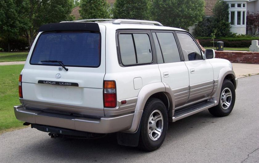 1996-97 Lexus LX 450 side view.