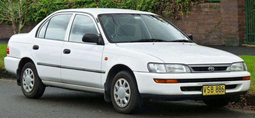 1996–1999 Toyota Corolla (AE101R) CSi sedan
