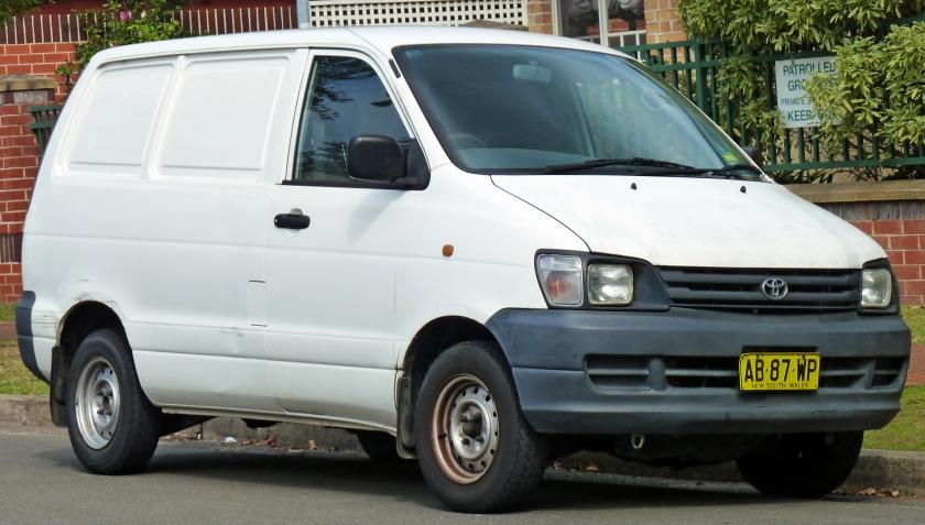 1997-99 Toyota TownAce (KR42R) van 01