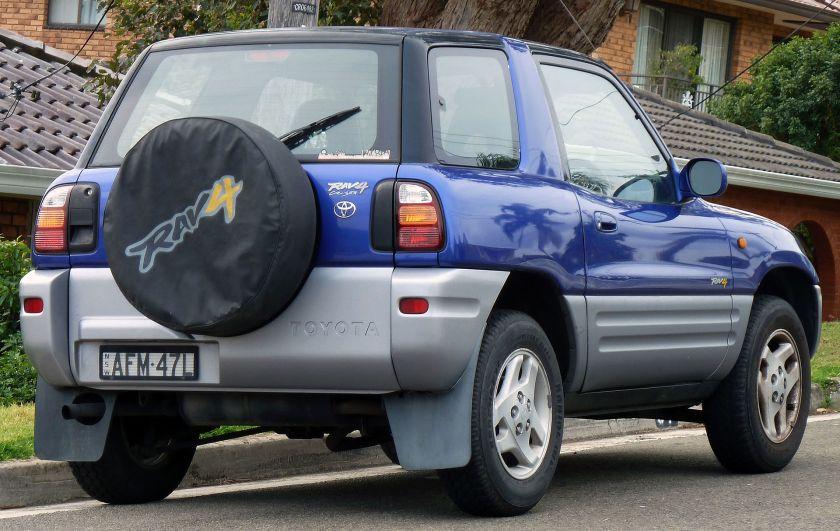 1997 Toyota RAV4 (SXA10R) Cruiser hardtop