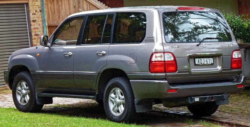 1998-02 Lexus LX 470 (UZJ100R) wagon