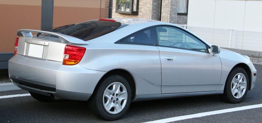 1999-02 Toyota Celica SS-I rear