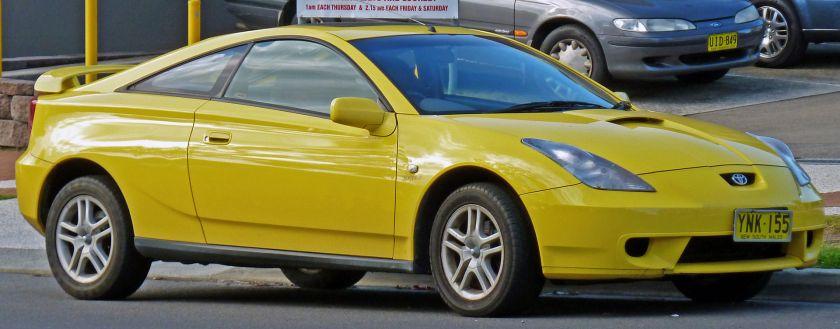 1999-02 Toyota Celica (ZZT231R) SX liftback