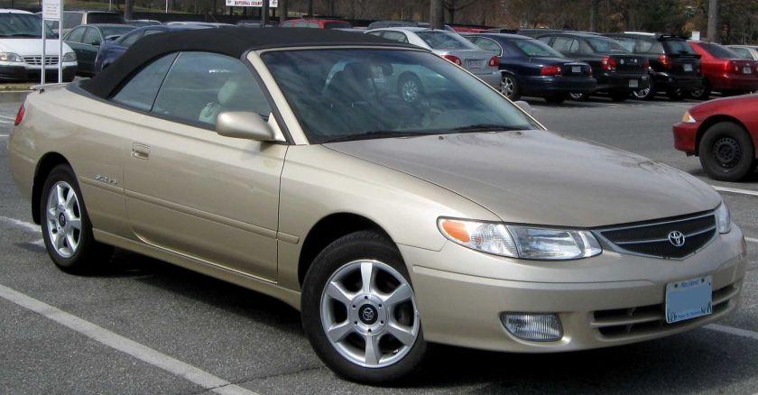 2000-01 Toyota Solara