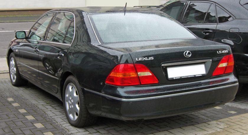 2000-03 Lexus LS 430 (UCF30 Europe)