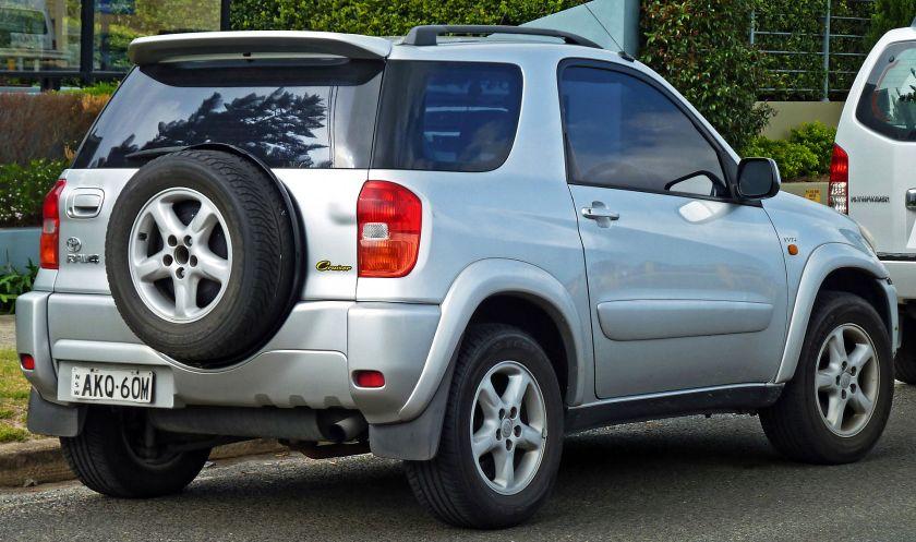 2000–03 Toyota RAV4 (ACA20R) Cruiser hardtop